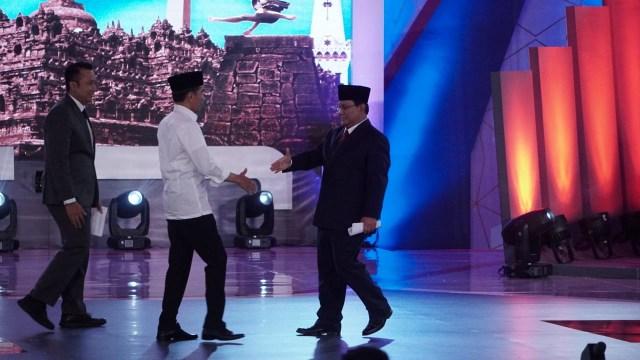 Foto: Keceriaan Debat Perdana Pilpres 2019 (123307)