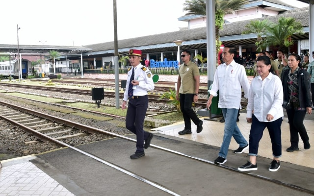 Jokowi kunjungan kerja ke Garut.