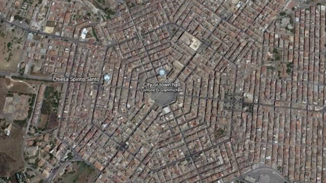 Grammichele, Satu-satunya Kota Berbentuk Heksagonal di ...