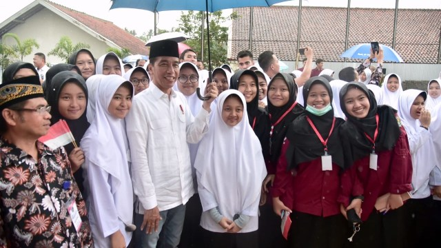 Presiden Joko Widodo, Ponpes Darul Aqam, Garut