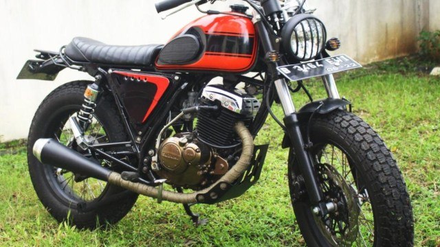 Modifikasi Suzuki Thunder 125 Bergaya Jap Style Kumparan Com