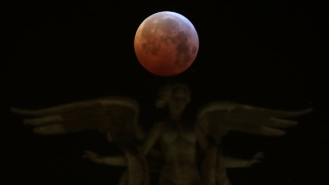Sore Ini Gerhana Bulan Total Super Blood Moon Sambangi Indonesia, Catat Waktunya (249016)
