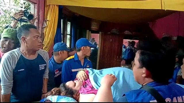 Titi Wati, RSUD Doris Sylvanus Palangka Raya ke rumahnya di Jalan George Obos, Palangka Raya