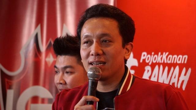 Konferensi pers Road to Final Indonesian eSports Games 2018/2019, PKPI, Ketua Umum PKPI, Diaz Hendropriyono