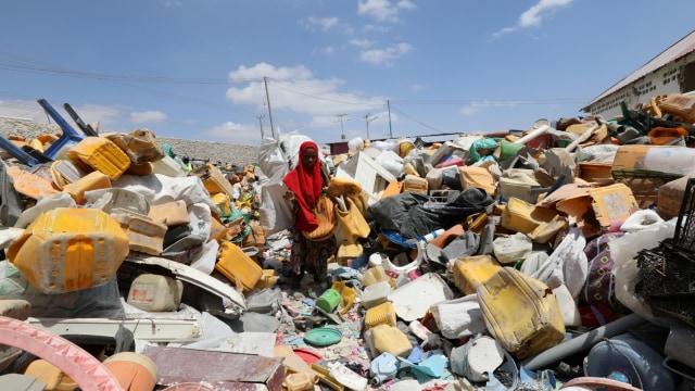 Sampah, Daur Ulang, Genteng, Somalia