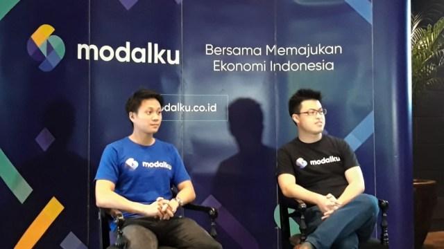 Modalku, Reynold Wijaya, Iwan Kurniawan, Co-Founder, CEO Modalku, Chief Operating Officer Modalku