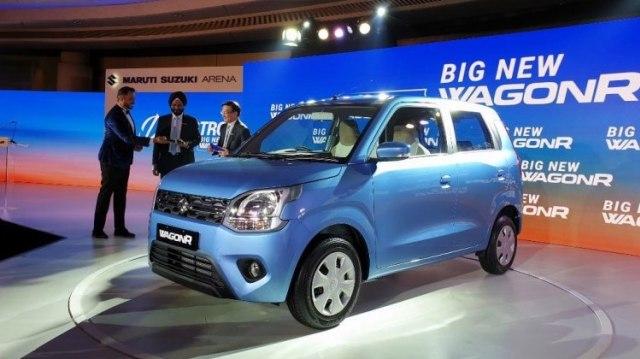 Peluncuran Suzuki Wagon R terbaru
