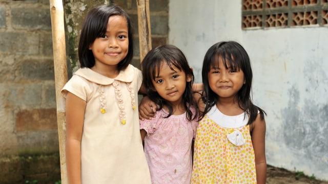 Ilustrasi anak Indonesia.