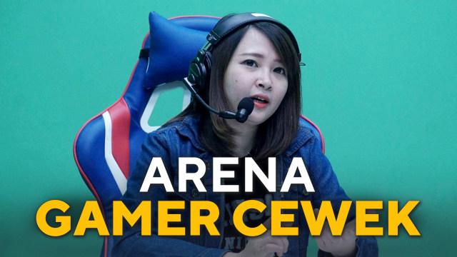 Konten Spesial - Arena Gamer Cewek