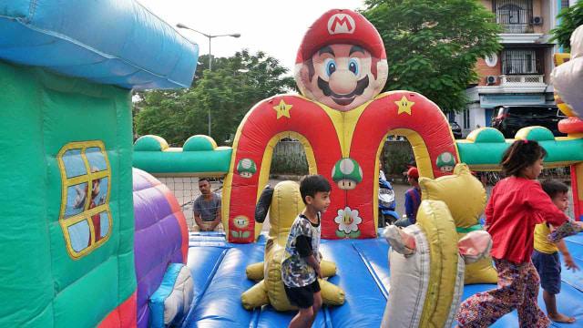 Wahana Rumah Balon Hiburan anak
