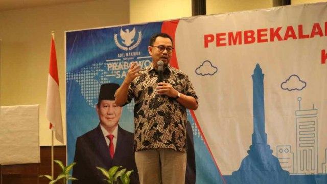 Sudirman Said, Direktur Materi dan Debat Badan Pemenangan Nasional (BPN) Prabowo-Sandi