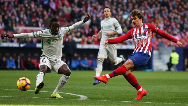 Gol Griezmann dan Saul Menangkan Atletico Madrid atas Getafe (84292)
