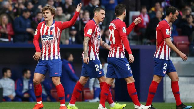 Gol Griezmann dan Saul Menangkan Atletico Madrid atas Getafe (84293)