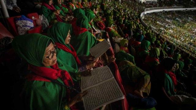Harlah Muslimat NU, Ke-74, Stadion Utama Gelora Bung Karno, GBK