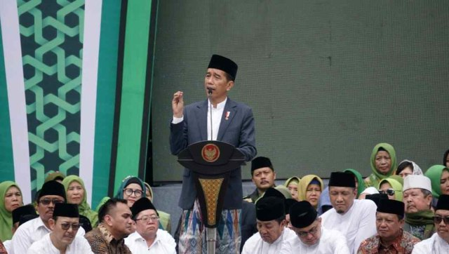 Harlah Muslimat NU, Ke-74, Stadion Utama Gelora Bung Karno, GBK, Jokowi