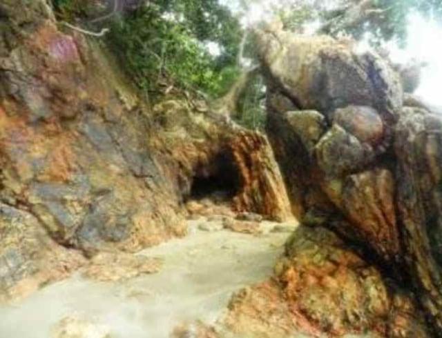 Lokasi diduga pintu masuk Saranjana