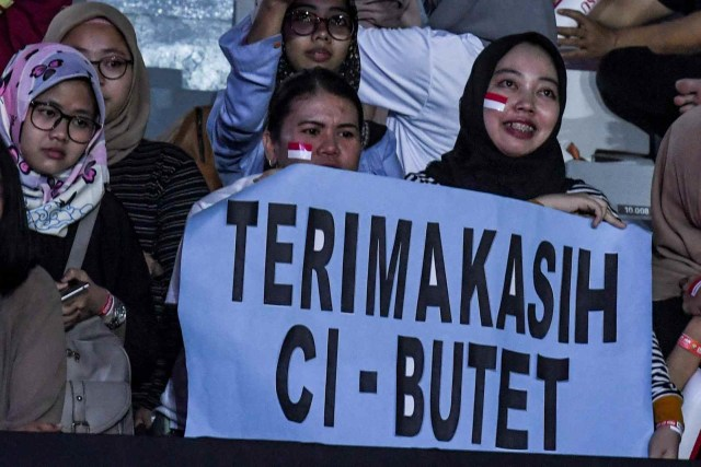 Perpisahan Liliyana Natsir, Istora Senayan, Jakarta (NOT COVER)