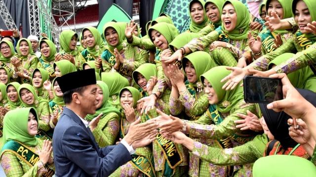 Presiden RI, Joko Widodo, Acara Harlah Muslimat NU