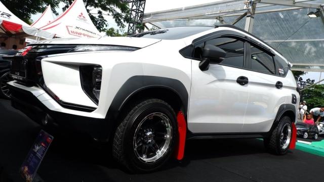 Modifikasi Xpander bergaya Rally Look