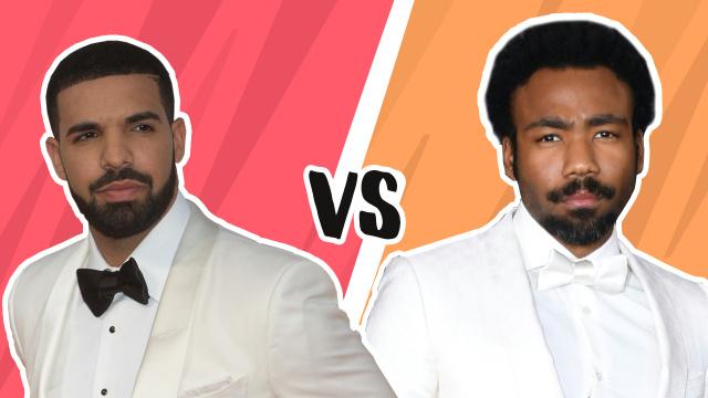 Drake vs Childish Gambino