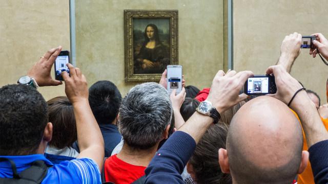 lukisan Monalisa, Leonardo da vinci