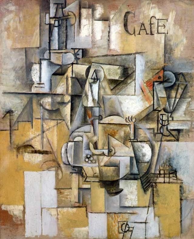 Lukisan Le pigeon aux petits pois karya Picasso