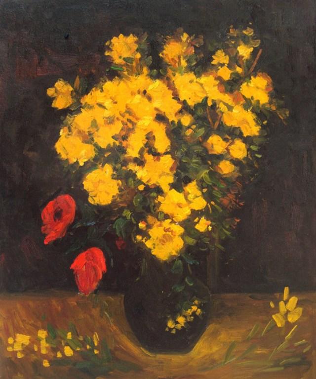Poppy Flower oleh Vincent van Gogh