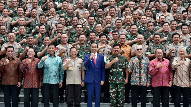 Jokowi, Rapim, TNI-Polri, Istana Negara