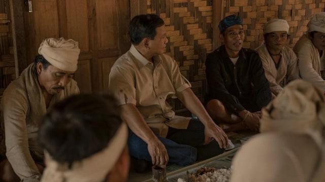 Prabowo Berdiskusi bersama masyarakat Baduy Dalam dan Baduy Luar
