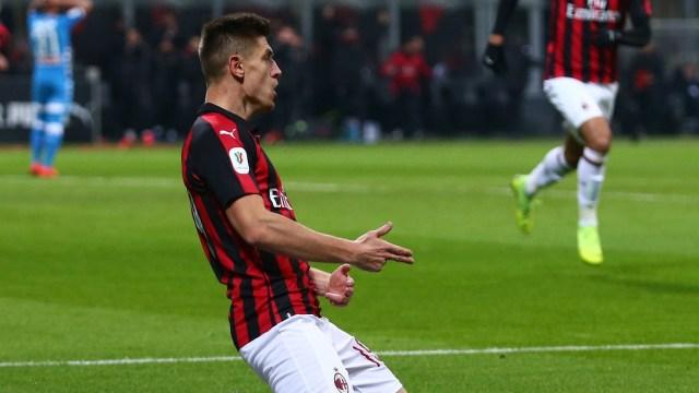 AC Milan vs Napoli, Kryzstof Piatek