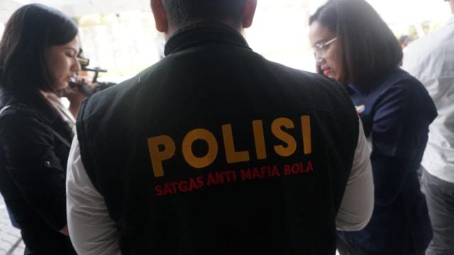 Satgas Anti Mafia Bola, Kantor PSSI