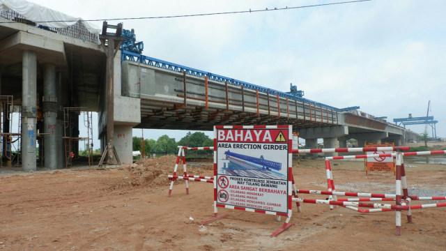 Pembangunan Tol Trans Sumatera ruas Terbanggi Besar-Kayu Agung, Lampung