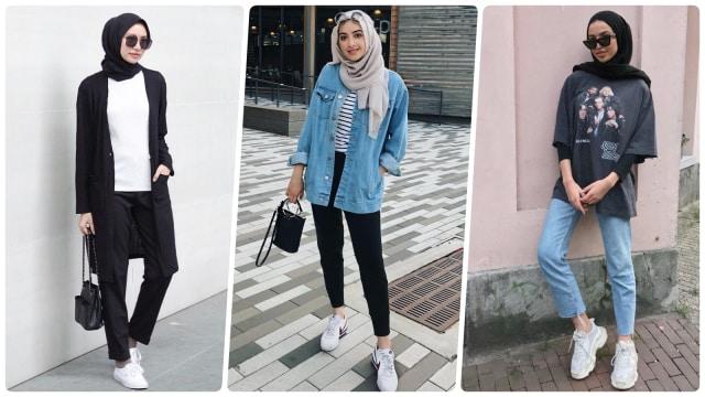 10 Inspirasi Padu Padan Busana Hijab