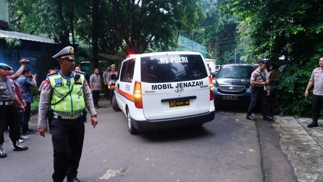 Rumah Duka Awaluddin Djamin, Jalan Daha III, Jakarta Selatan
