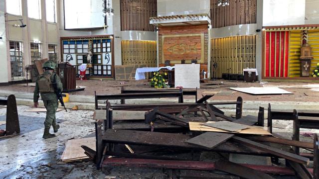 Bom Gereja, Filipina
