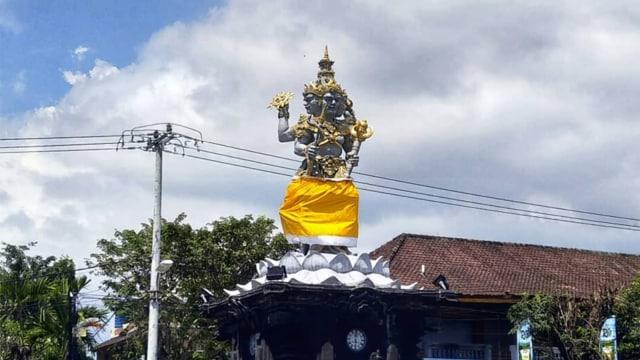Patung Catur Muka di Bali