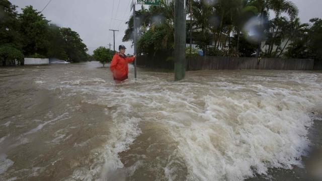 Foto: Banjir Sekali Dalam Seabad Genangi Wilayah Queensland, Australia (632726)