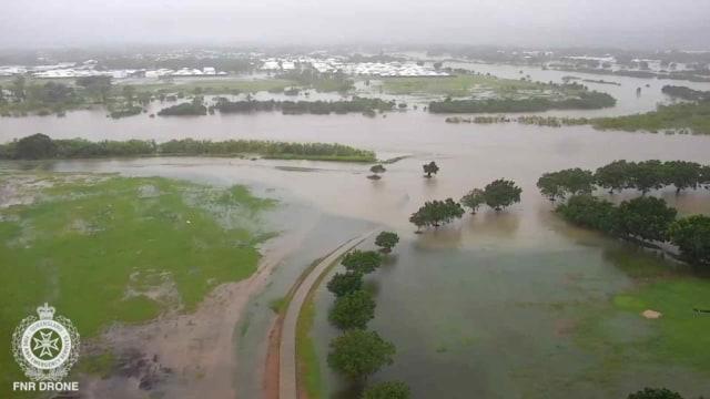 Foto: Banjir Sekali Dalam Seabad Genangi Wilayah Queensland, Australia (632723)