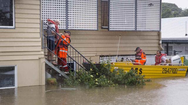 Foto: Banjir Sekali Dalam Seabad Genangi Wilayah Queensland, Australia (632725)
