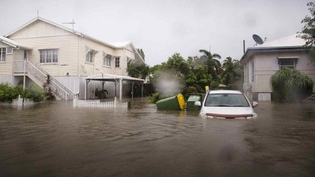 Foto: Banjir Sekali Dalam Seabad Genangi Wilayah Queensland, Australia (632724)
