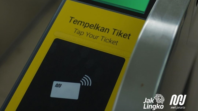 Kartu Jelajah, MRT Jakarta