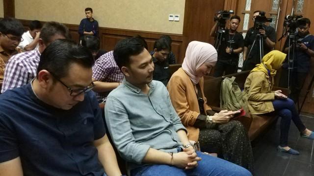 Steffy Burase Jadi Saksi Gubernur Aceh Nonaktif di Pengadilan Tipikor (10540)