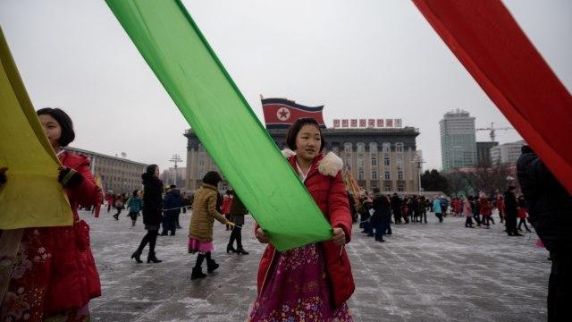 Imlek, Korea Utara