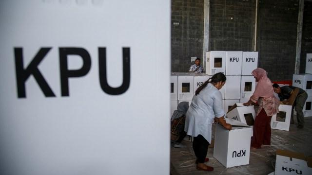 Perakitan kotak suara pemilu 2019, Yogyakarta