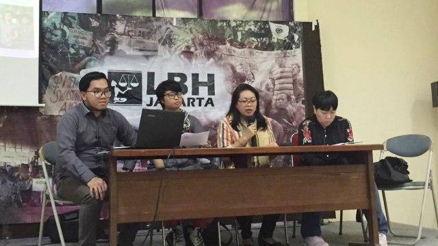 Lembaga Bantuan Hukum (LBH) Jakarta membahahas RUU PKS