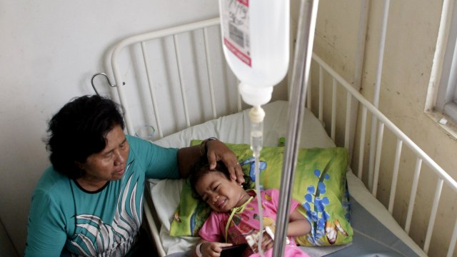 Foto: Penderita Demam Berdarah Terus Meningkat di Tengah Wabah Corona (69156)