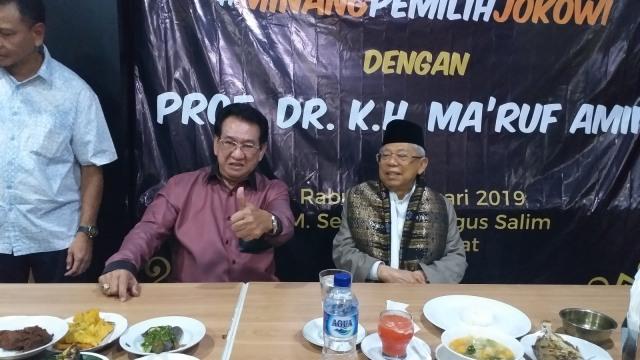 Ma'ruf Amin: Orang Padang di Jakarta Dukung 01, Masa di Sumbar Tidak? (215840)