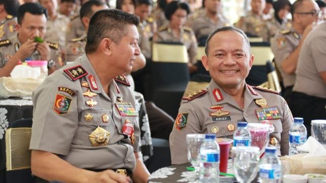 Kalemdikpol Komjen Arief, acara pemberian pengarahan di Akpol