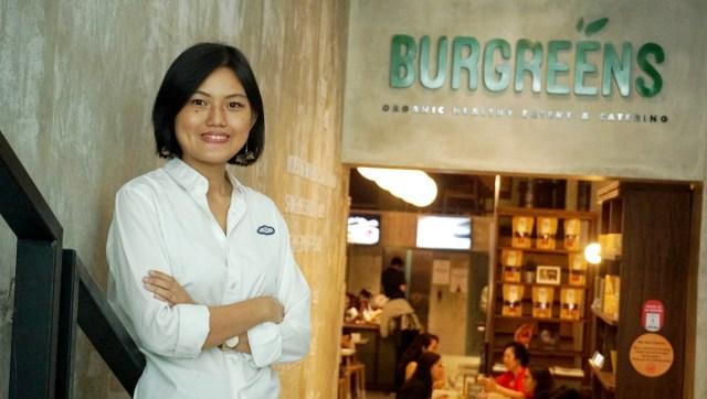 Helga Angelina Co-Founder Burgreens