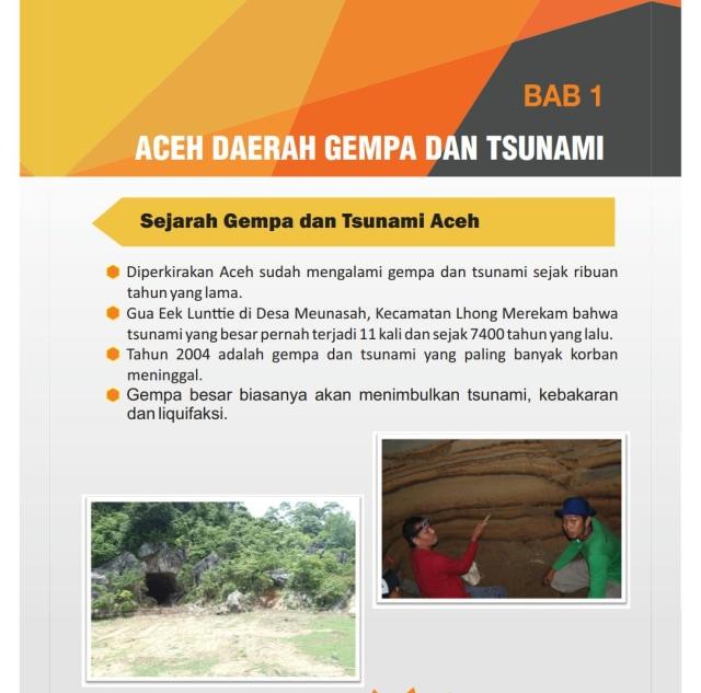 Tingkatkan Mitigasi Bencana, Aceh Bikin Buku Saku Gempa dan Tsunami (39190)
